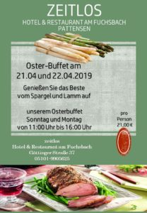 Oster-Buffet 2019
